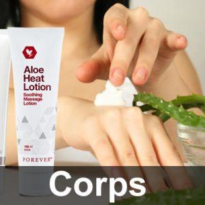 Gel Aloe Vera Corps