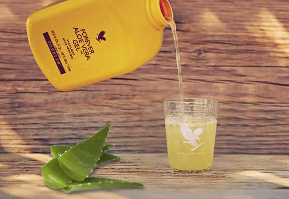 Gel d'Aloe Vera à boire